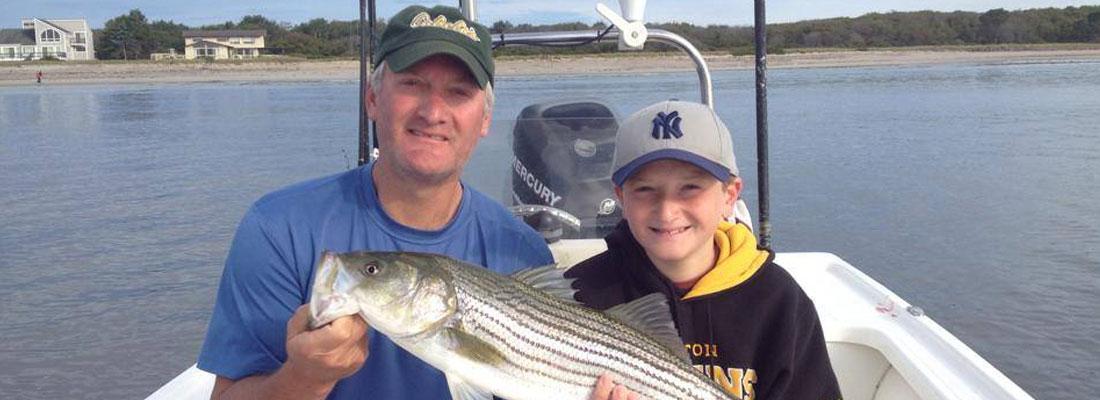 slide-dad-boy-fishing-boat